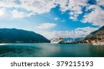 liner in the bay of kotor | Shutterstock . vector #379215193