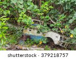 old rusted car | Shutterstock . vector #379218757