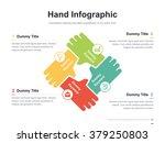 flat business presentation... | Shutterstock .eps vector #379250803
