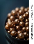 Small photo of copper-plated steel balls for shooting from air gun caliber 4.5 mm