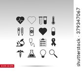 medical icons | Shutterstock .eps vector #379347067