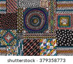 quilting  patchwork  embroidery ... | Shutterstock .eps vector #379358773