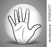 sign language design  | Shutterstock .eps vector #379391977