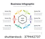 flat business presentation... | Shutterstock .eps vector #379442737