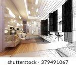 abstract sketch design of... | Shutterstock . vector #379491067