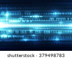 abstract security digital... | Shutterstock .eps vector #379498783