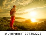 a young traveller looking at... | Shutterstock . vector #379503223