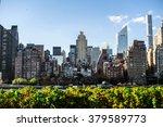 newyork city panorama with... | Shutterstock . vector #379589773