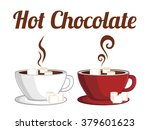 hot chocolate | Shutterstock .eps vector #379601623