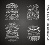 set of quote typographical... | Shutterstock .eps vector #379617523