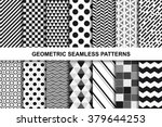 collection of geometric... | Shutterstock .eps vector #379644253