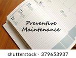 preventive maintenance text... | Shutterstock . vector #379653937