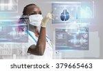 medicine doctor working with... | Shutterstock . vector #379665463