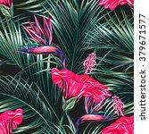 beautiful seamless vector... | Shutterstock .eps vector #379671577