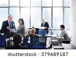 business team finance stock... | Shutterstock . vector #379689187