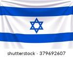 back flag israel | Shutterstock .eps vector #379692607