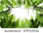 frame. jungle. vector... | Shutterstock .eps vector #379725553