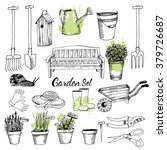 Vector Set Of Gardening