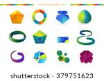 abstract vector logo elements | Shutterstock .eps vector #379751623