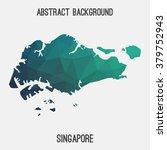 singapore map in geometric...   Shutterstock .eps vector #379752943