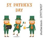 collection of leprechaun for... | Shutterstock .eps vector #379776937