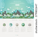 green eco city and sustainable...
