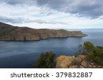 deep blue mediterranean see | Shutterstock . vector #379832887
