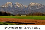 Alpine And Rural Scenery In...