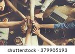 business team celebration party ... | Shutterstock . vector #379905193