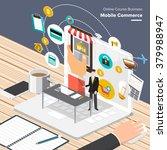 isometric flat design concepts... | Shutterstock .eps vector #379988947