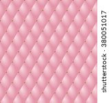upholstery tufted leather... | Shutterstock .eps vector #380051017