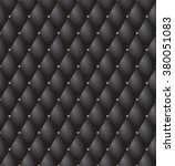 upholstery tufted leather... | Shutterstock .eps vector #380051083