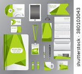 white identity template with...   Shutterstock .eps vector #380103043