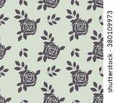 vector seamless pattern of... | Shutterstock .eps vector #380109973