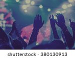 Stock photo popular music concert 380130913