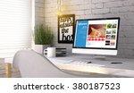 influencer marketing concept ...   Shutterstock . vector #380187523