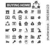 estate icon | Shutterstock .eps vector #380188123