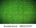 green grass natural background. ... | Shutterstock . vector #380222557