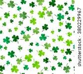 st patrick's day clover... | Shutterstock .eps vector #380229967