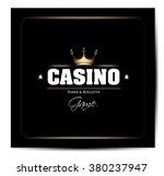 casino vector background | Shutterstock .eps vector #380237947