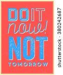typographic background  ... | Shutterstock .eps vector #380242687