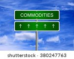 commodity price investment... | Shutterstock . vector #380247763