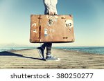 Young Woman Ready To Travel...