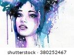 abstract watercolor...   Shutterstock . vector #380252467