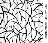 abstract black and white... | Shutterstock .eps vector #380294833