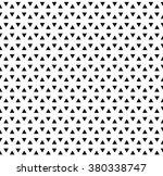 seamless triangle pattern.... | Shutterstock .eps vector #380338747