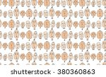a seamless vector pattern with...   Shutterstock .eps vector #380360863