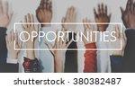 Opportunities Career Achievement Success Concept