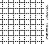 vector seamless pattern. modern ... | Shutterstock .eps vector #380399323