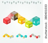 vector flat colorful... | Shutterstock .eps vector #380401033